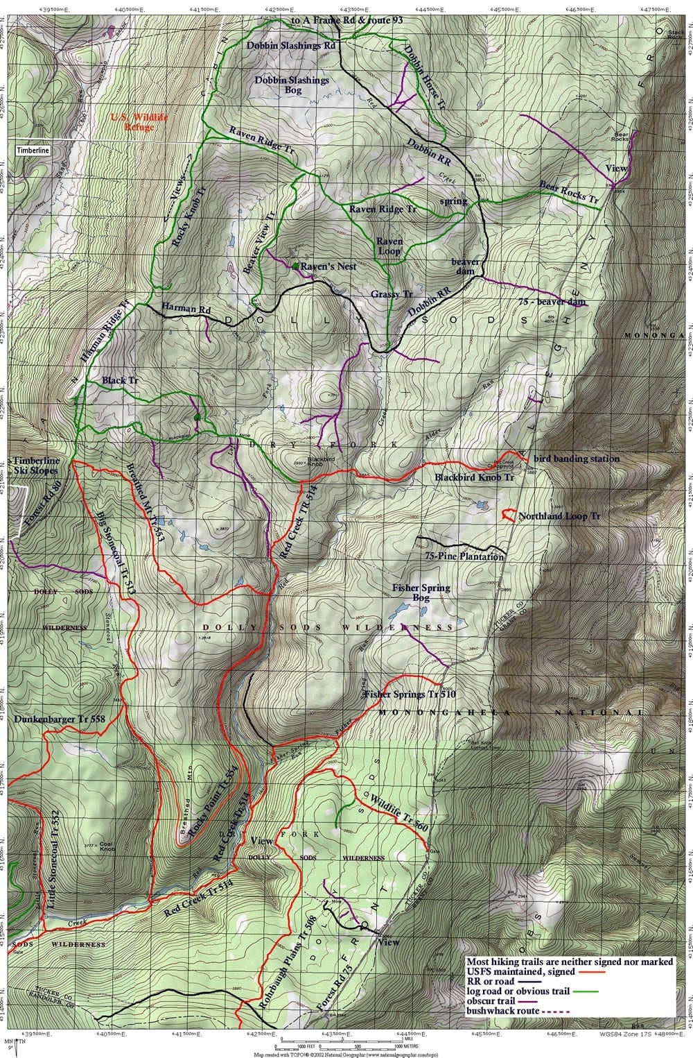 Trail Guide & Maps - White Gr Ski Touring Center on otter creek wilderness area map, blackwater falls state park map, boston metro map, spruce knob, otter creek wilderness, laurel fork north wilderness, canaan valley national wildlife refuge, roaring plains west wilderness, smoke hole caverns, north fork mountain, bear rocks preserve, fairfax stone, oberg mountain trail map, smoke hole canyon, canaan valley state park map, elk river, wv state parks map, monongahela national forest, cranberry glades botanical area, cranberry glades map, elizabeth furnace map, nature map, taihu lake map, greater puget sound map, george washington national forest map, kumbrabow state forest, mammoth cave map, cathedral state park, superstition wilderness map, spruce knob map, new river gorge map, greater brisbane map, gauley river, seneca rocks, canaan valley resort state park, cranberry wilderness, canaan valley, shenandoah national park map, the plains va map, wulingyuan map,